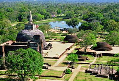 Шри Ланка. Древний город Полоннарува